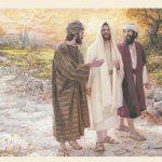Jesus aparece a dois discípulos a caminho de Emaús - Parte 3