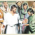 Jesus aparece a sete discípulos