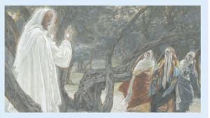 A anunciação do ressurgimento de Jesus